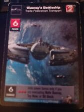 Young Jedi TCG Boonta Eve Viceroy's Battleship Trade Federation Transport Non-MT
