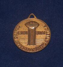 1963 ROMA OLYMPICS MEDAL TOKEN TROFEO CENTRO CONIFIDAL ADDESTRAMENTO ATLETICA