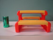 Little Tikes Vintage Dollhouse Furniture - Picnic Table