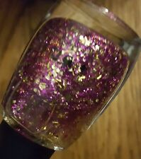 Sation Nail Polish Lacquer In More Is Glitter