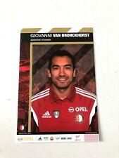 Spelerskaart Topspieler Feyenoord Gio van Bronckhorst 14-15