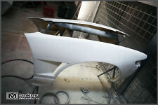 NEW M-SPORT NISSAN S13 SILVIA FRONT FENDER VENTED GUARD BODY KIT +25MM WIDE