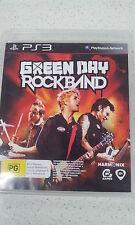 Green Day Rockband PS3