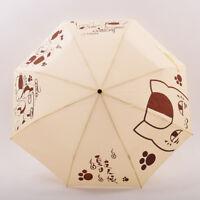 Anime JoJo/'s Bizarre Adventure Cosplay Folding Rain//Sun Umbrella Harajuku#10-546
