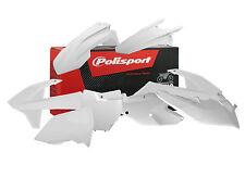 Polisport Motocross Plástico Kit KTM SX SXF 125 250 350 450 2016 2017 Blanco