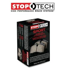 NEW Mazda 6 Lincoln MKZ Rear Left & Right Sport Brake Pads StopTech 309.11610