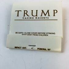 Trump Casino Resort Hotel Matches Matchbook