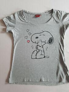 SNOOPY Peanuts Damen T-Shirt GR 38