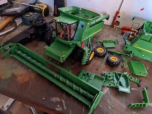 britains ertl 1/32 combine John Deere RC conversion spares repairs project