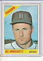 Bill Monbouquette 1966 Topps Baseball Card #429 (C)