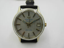 WITTNAUER GENEVE AUTOMATIC WATCH 17 JEWELS D11KAS 10K R.G.P. WORKS & KEEPS TIME