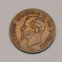 Italy, 5 Centesimi 1862,  FREE SHIPPING
