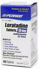 Perrigo Loratadine 10mg Non-Drowsy Allergy Relief 100 tabs  PHARMACY FRESH!