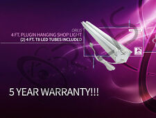 4 Ft. 48W ShopLight Garage Fixture (2) LED T8 Tubes Included 6000 Lumens!! 6500k