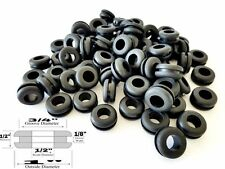 50 Rubber Grommets 1/2 Inside Diameter - Fits: 3/4 Panel Holes