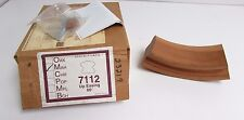 Solid Mahogany 7112 Up Easing 60° Fitting Stair Rail Handrail Banister *Nib*