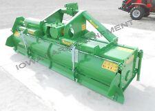 "Rotary Tiller: 10'-2"" Valentini U3000,Tractor 3Pt,Pto, Qh Compat, Hd 170Hp Gbox!"