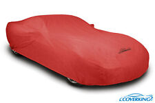 Coverking Red Triguard Tailored Car Cover for Hyundai Tiburon - Made to Order