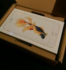 NEW APPLE iPHONE 6S PLUS 128GB GOLD UNLOCKED PHONE IN HAND WORLDWIDE SHIPPING !