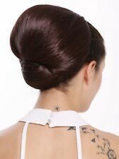 Hair Piece Bun Large Omadutt Oma Costume Retro Vintage Red Brown Q399BOBO