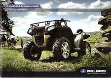 Polaris ATV & Ranger 2010 UK Market Sales Brochure Sportsman Outlaw Entry Youth
