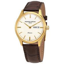 Frederique Constant Classics Quartz Silver Colored Dial Day/Date Mens Watch