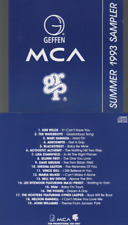 MCA Geffen GRP Summer 1993 Sampler CD PROMO kim wilde aerosmith blackstreet ...