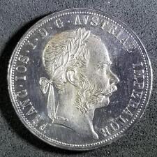Austria 1889 Silver 2 Florin SCARCE Nice Coin