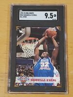 1993 Upper Deck #264 AS Shaquille O'Neal SGC 9.5 POP 2 None > RC Rookie
