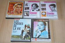 Lot 5 DVD films avec Romy Schneider : La Califfa, Banquiète, l'enfer, Dix Heures