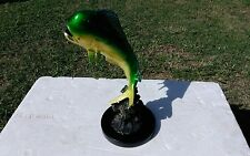 "Mahi-Mahi Dorado Dolphinfish Fish 12"" Metal Art Sculpture by SPI Gallery"