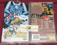 1 VHS MANGA-FINAL FANTASY II 2 SEQUEL GIOCO V-ANIME INEDITO DVD game,retro,ruolo