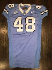 Game Worn Used Nike North Carolina Tar Heels UNC Football Jersey #48 Size 52