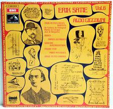 "12"" Vinyl - ERIC SATIE Vol.6 - Aldo Ciccolini (Piano)"