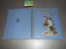 Ancien livre LE ROMAN DU RENARD Éditeur Henri LAURENS Illustrations A VIMAR