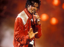 "Michael Jackson ""Victory Tour Red Lamé Beat It Jacket"""