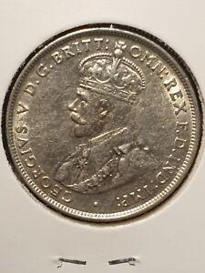1927 Australian florin coin