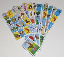 MEXICAN LOTERIA BINGO CARDS GAME 10 PLAYERS AUTHENTIC 10 BOARDS 54 CARDS GAMES