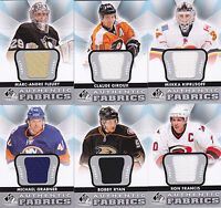 12-13 SP Game Used Claude Giroux Jersey Fabrics Flyers 2012