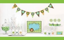 Jungle Safari Baby Shower Birthday Party Decorations Starter Kit