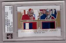 PATRICK ROY 12/13 ITG Ultimate Journey Canadiens/Avalanche Jersey # 1/1 GOLD SP