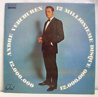 33T André VERCHUREN Vinyl LP 12.000.000 ème DISQUE Musette + Poster FESTIVAL 500