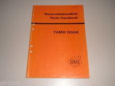 Catalogue des Pièces Volvo Penta Moteur Diesel Moteur Tamd 120 Ak
