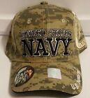 NEW United States Navy Military Camo Baseball Cap Hat Adjustable