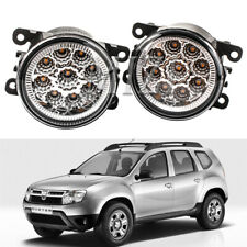 LED Front Bumper Fog Light Lamp w/Bulb For Dacia Duster Sandero Logan 2004-2015