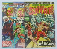 Marvel Spotlight #14 21 23 Son of Satan Bronze Age Comic Book Lot TV Show soon