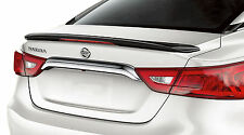 PAINTED SPOILER FOR A NISSAN MAXIMA FACTORY STYLE LONG VERSION 2016-2017