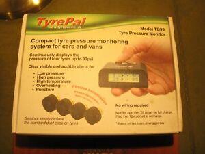 TyrePal Model TB99 car or van tyre pressure monitoring system, 4 sensors