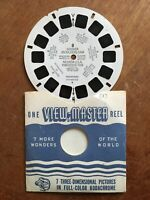 Sawyer's Vintage 1947 View-Master Reel # 8 Hoover Boulder Dam Nevada Powerhouse