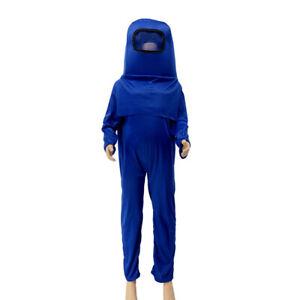 Among Us Kids Boys Girls Halloween Cosplay Costume Werewolf Kill Space Bodysuit